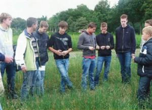 Studenten ROC-Prinsentuin op excursie bij boomkweker Jack van Hassel