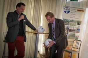 Jan Rotmans aan de bal