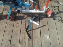 SchoonWater schoffelmachine met aanaarder detail