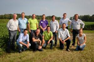 Deelnemers praktijknetwerk hoge opbrengst en Schoon Water