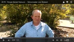 Screenshot oproep Gerard Nabuurs