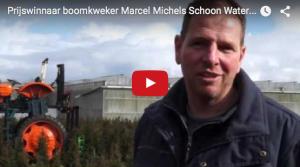 Prijswinnaar Schoon Water filmprijs 2015: eigen film Buitenkansjes van boomkweker Marcel Michels
