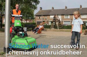 Schoon Water succesvol in chemievrij onkruidbeheer, in Stadswerk