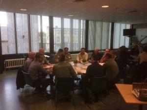 bijeenkomst chemievrij beheer verhardingen werkgroep
