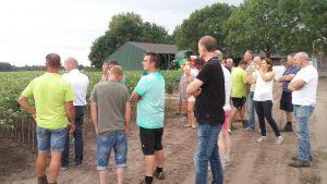 Fruitboomkwekers bijeenkomst Schoon Water voor Brabant