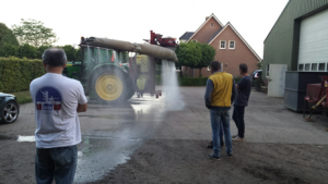 Demonstratie Hardi spuit