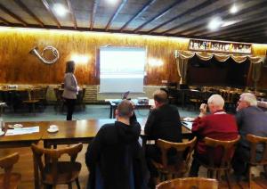 bijeenkomst boomkwekerij