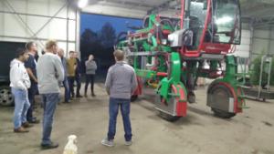 Bijeenkomst boomkwekerij demo machines