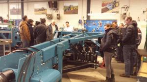 Rondleiding door de fabriek van Imants BV, Reusel.
