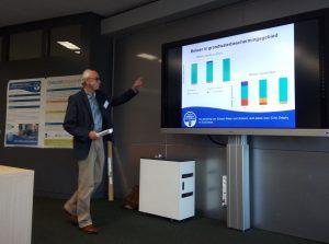 Jan Hekman van Eco Consult presenteerde de resultaten van Schoon Water voor Brabant