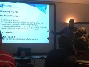 Presentatie van Arthur Helling (RECRON)