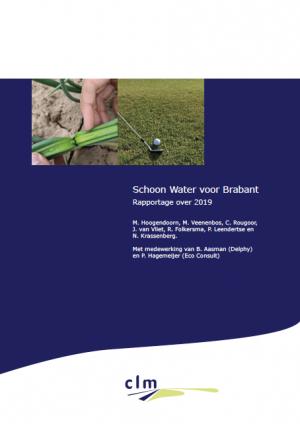 Schoon Water voor Brabant, rapportage 2019, voorkaft